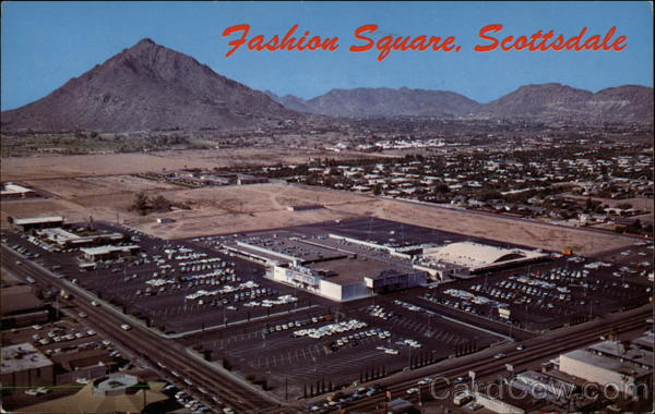 Scottsdale Fashion Square Shopping Center in 1968