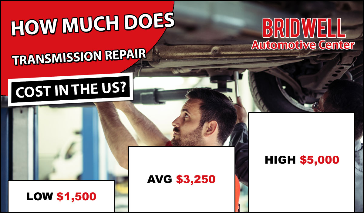 How Much Does Transmission Repair Cost?