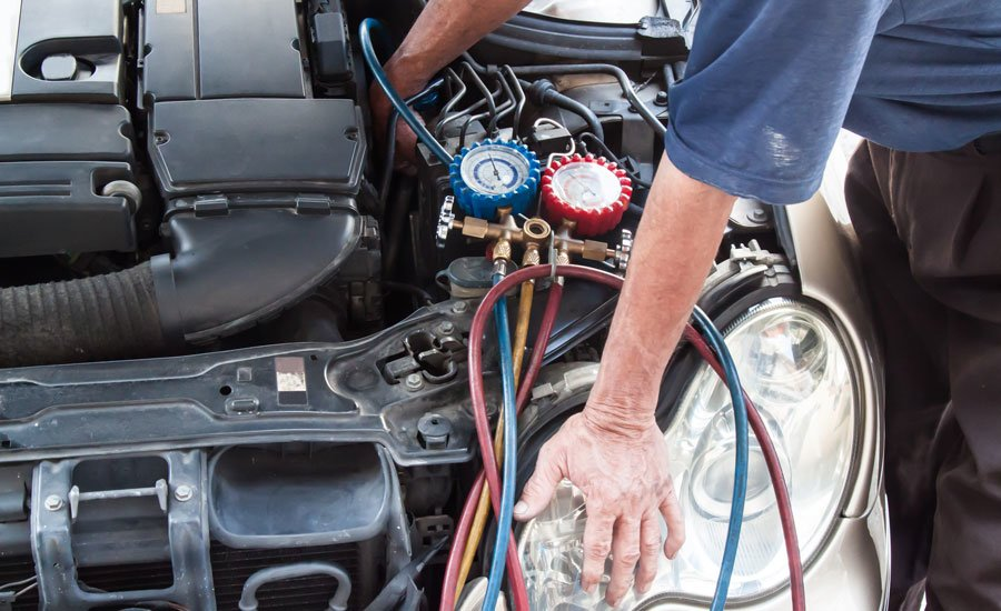Car AC Compressor Repair Replacement Bridwell Auto