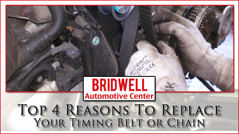 Top 4 Reasons To Replace Your Timing Belt