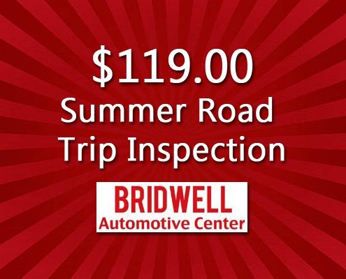 $119 Summer Road Trip Inspection