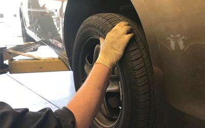 TIRE PRESSURE & TREAD